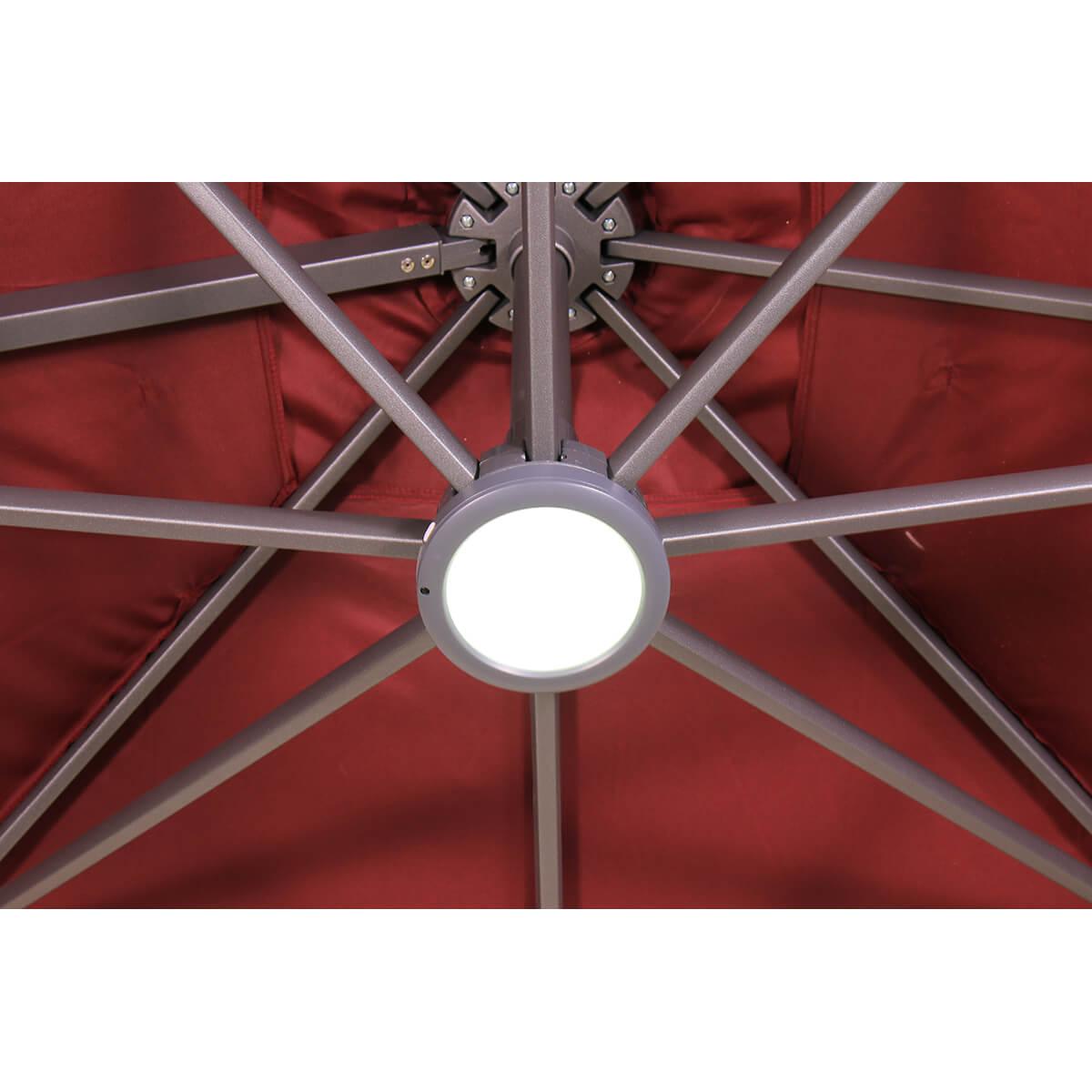 LED Akku Leuchte für Ampelschirme